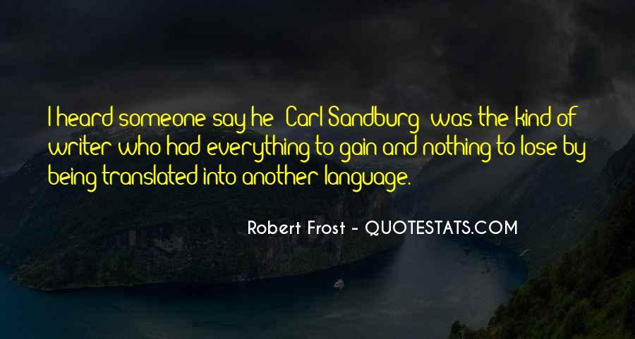 Quotes About Carl Sandburg #371787