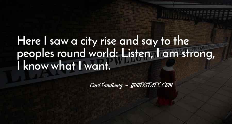 Quotes About Carl Sandburg #40214