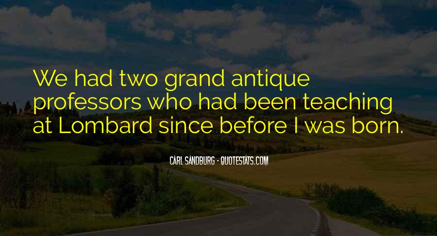 Quotes About Carl Sandburg #572365