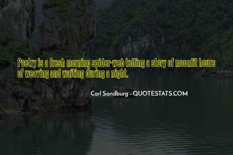 Quotes About Carl Sandburg #578121