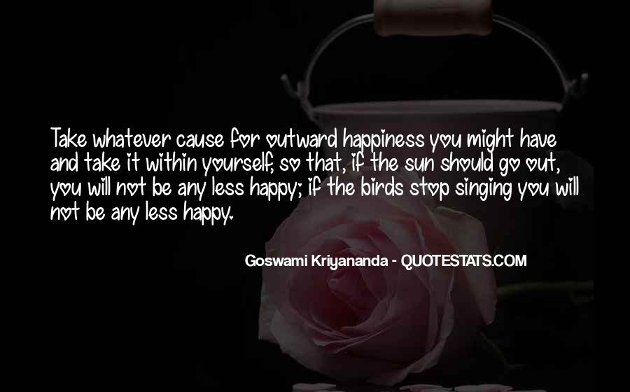 Quotes About Sun And Happiness #1015143