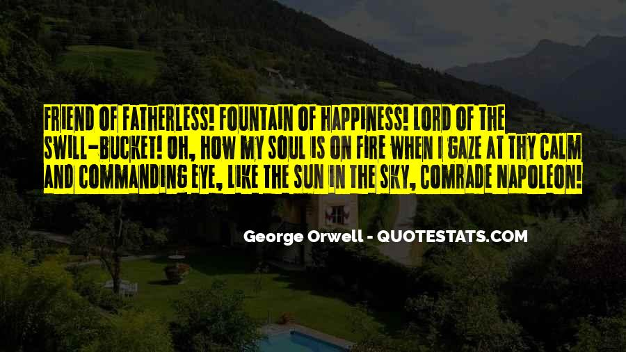 Quotes About Sun And Happiness #1140174