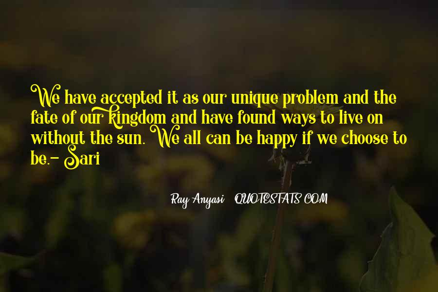 Quotes About Sun And Happiness #1171566