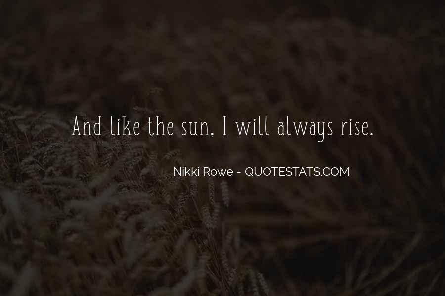 Quotes About Sun And Happiness #1610267
