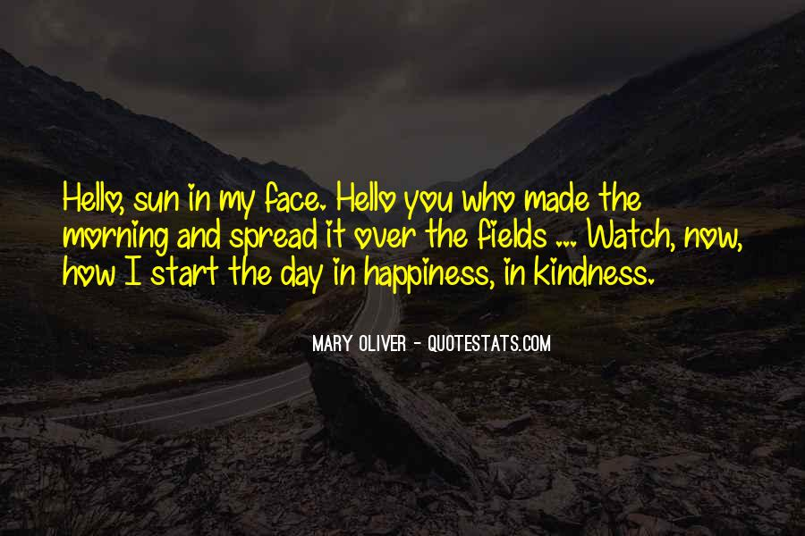 Quotes About Sun And Happiness #630232