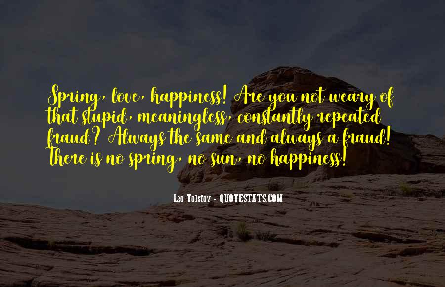 Quotes About Sun And Happiness #677572