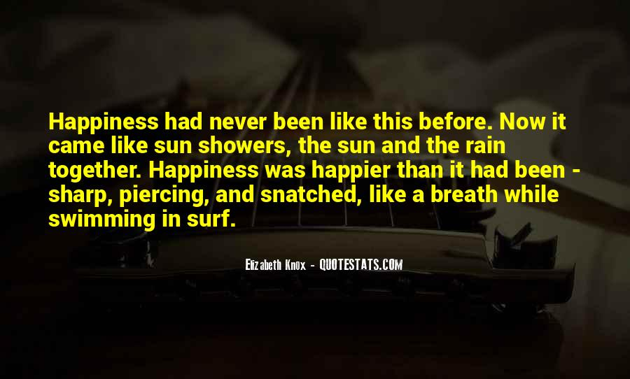 Quotes About Sun And Happiness #808994