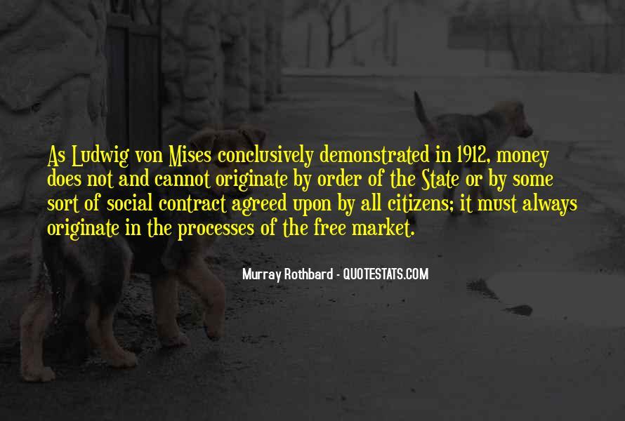 Rothbard Quotes #247657
