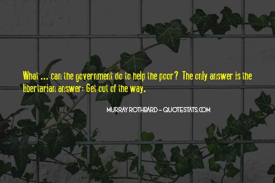 Rothbard Quotes #800771