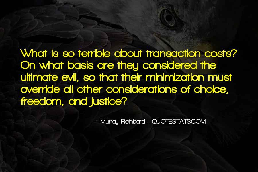 Rothbard Quotes #928711