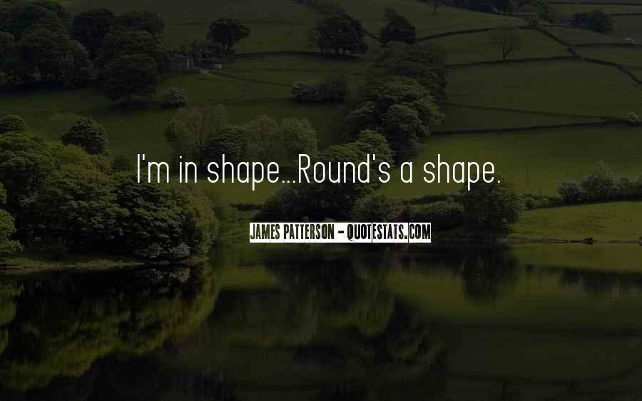 Round Shape Quotes #370746