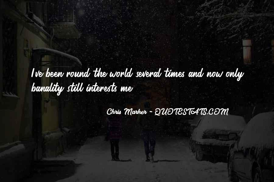 Round The World Quotes #222441