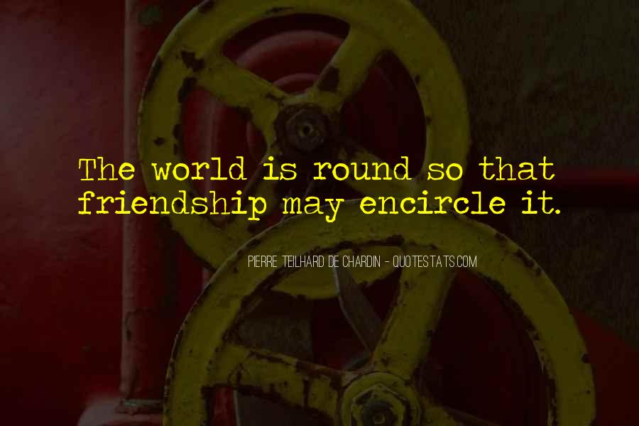 Round The World Quotes #259760