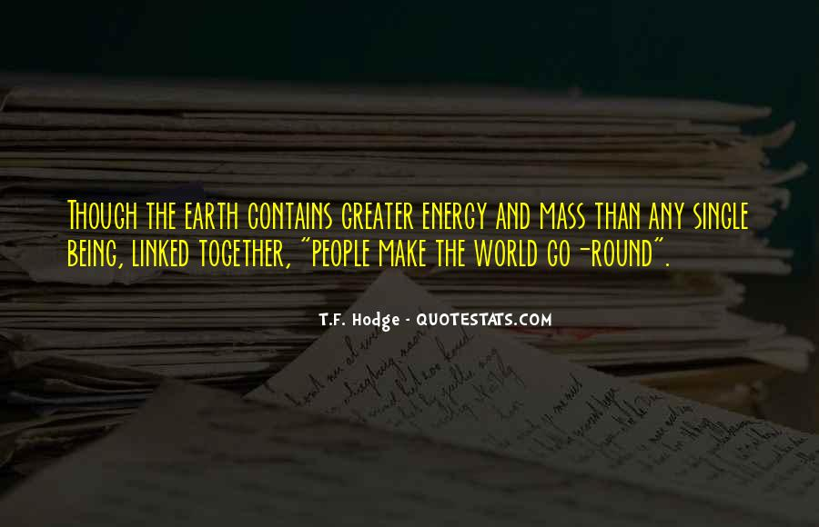Round The World Quotes #281328