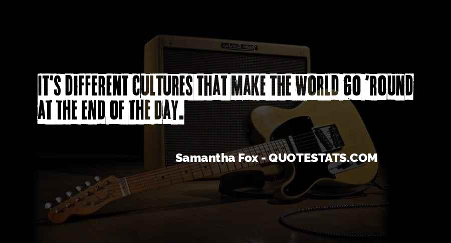 Round The World Quotes #288863