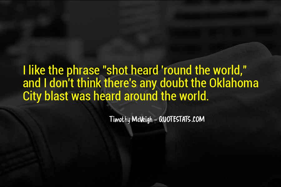 Round The World Quotes #29622