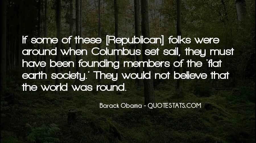 Round The World Quotes #488767