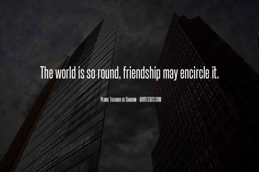Round The World Quotes #557831