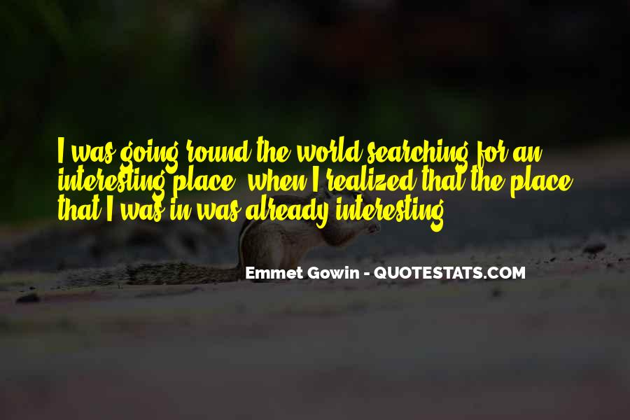 Round The World Quotes #558458