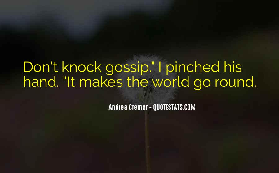 Round The World Quotes #559546