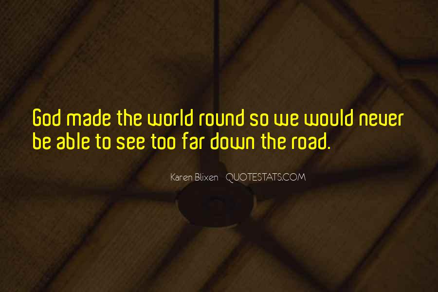 Round The World Quotes #612250