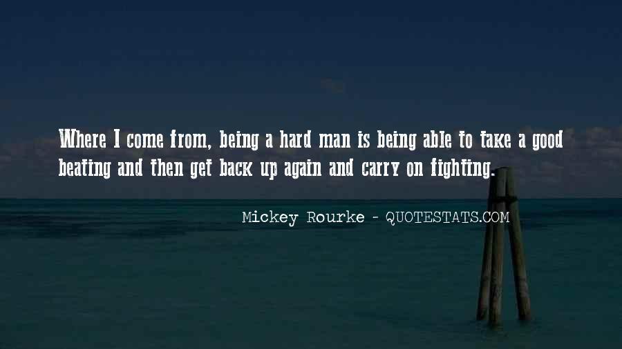 Rourke Quotes #24972