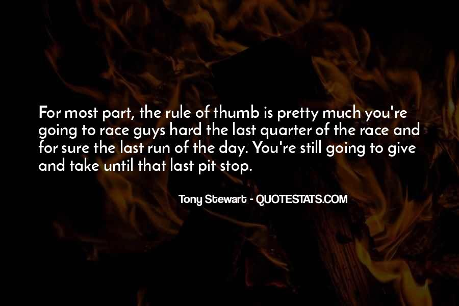 Quotes About Tony Stewart #1742201