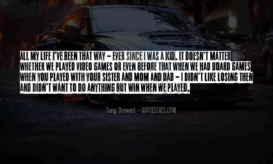 Quotes About Tony Stewart #371501