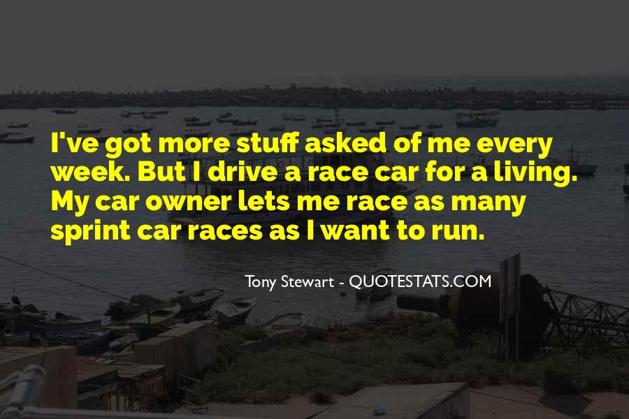 Quotes About Tony Stewart #991460