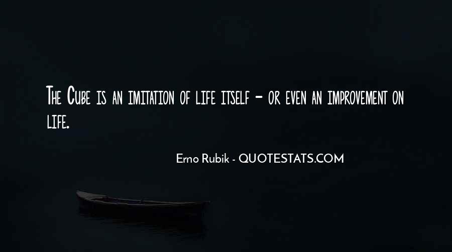 Rubik's Cube Life Quotes #780821