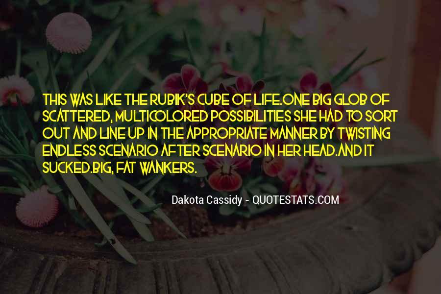 Rubik's Cube Life Quotes #783726