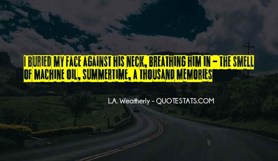 Quotes About Summertime Love #1073701