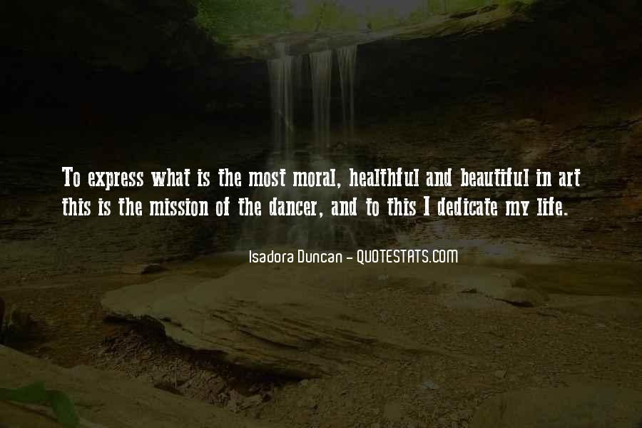 Quotes About Isadora Duncan #113603