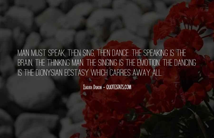 Quotes About Isadora Duncan #1430305