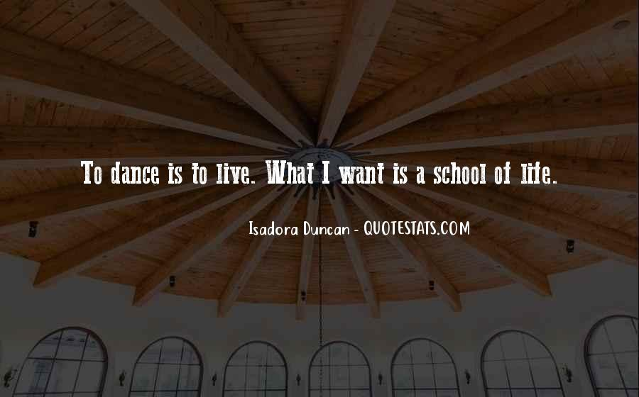Quotes About Isadora Duncan #1455181