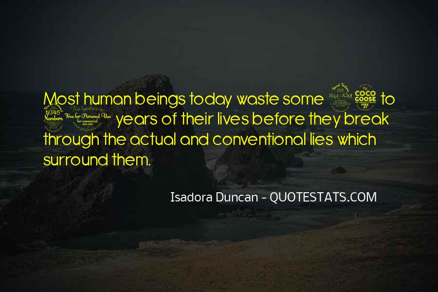 Quotes About Isadora Duncan #196298