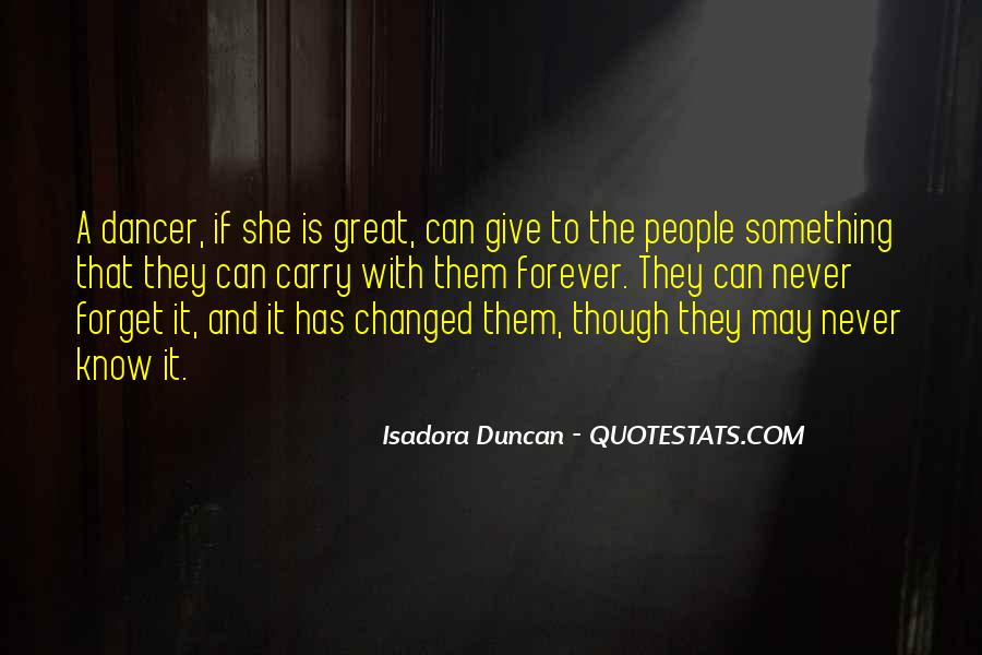 Quotes About Isadora Duncan #548510