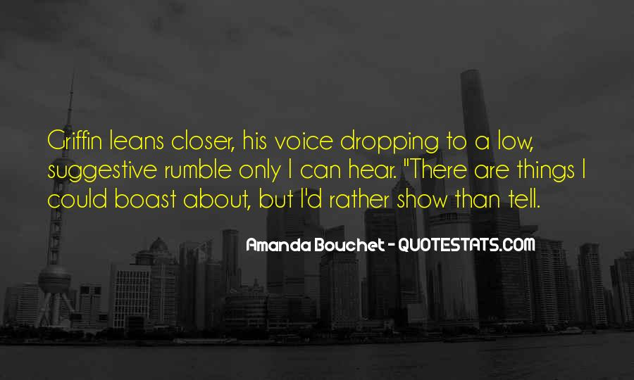 Rumble Quotes #1109898