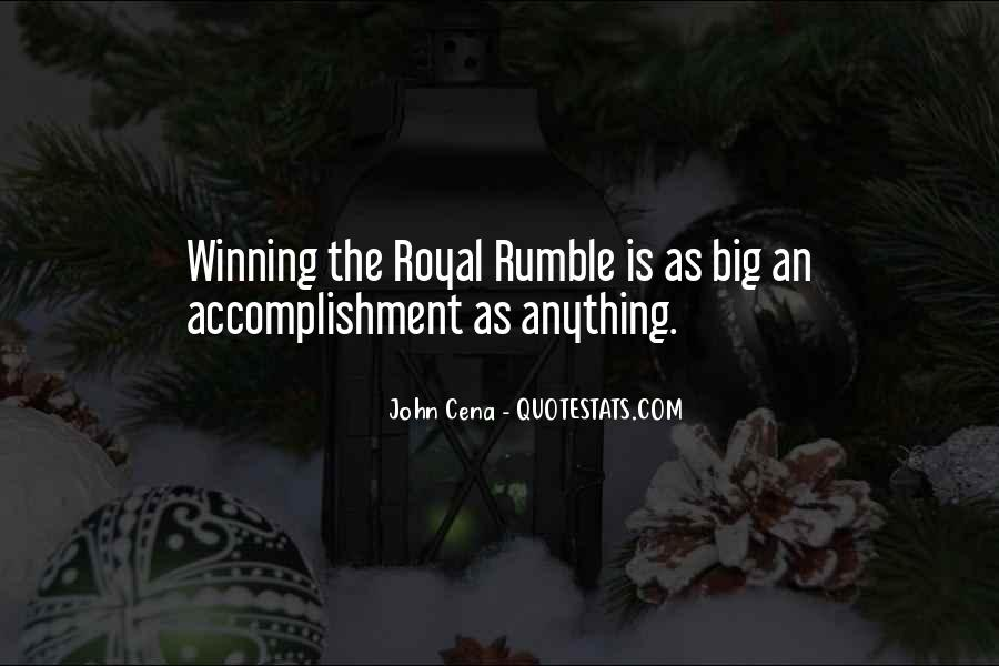 Rumble Quotes #1268455