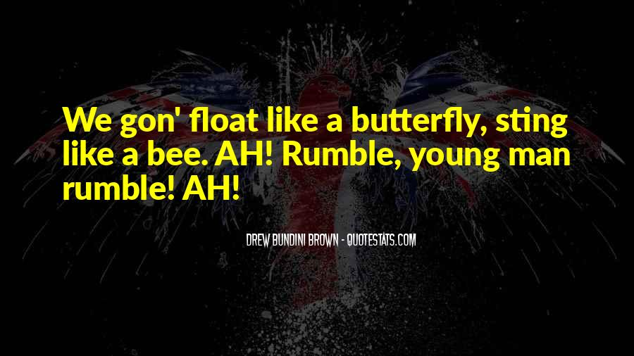 Rumble Quotes #135026