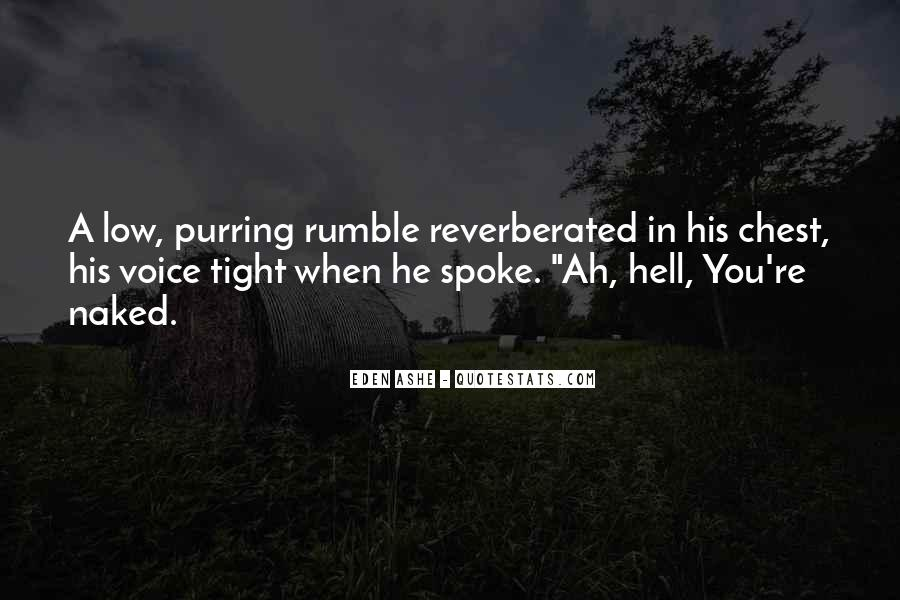 Rumble Quotes #866443