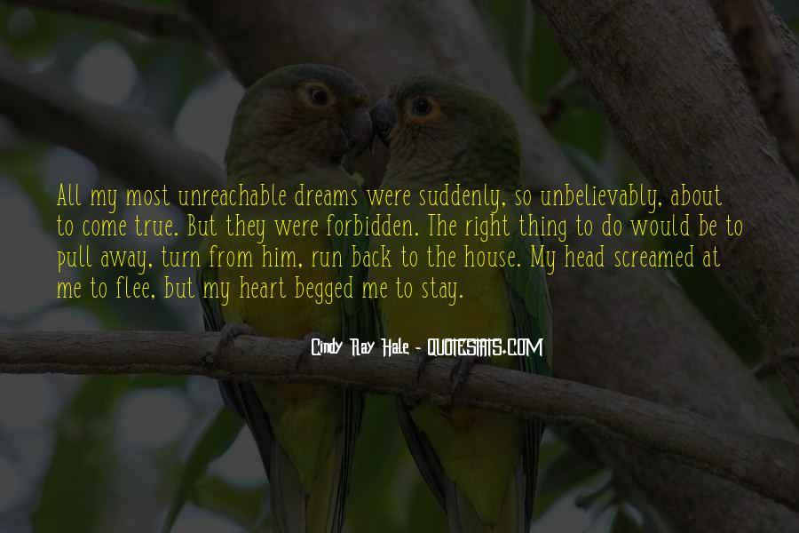 Run Away Love Quotes #1208954