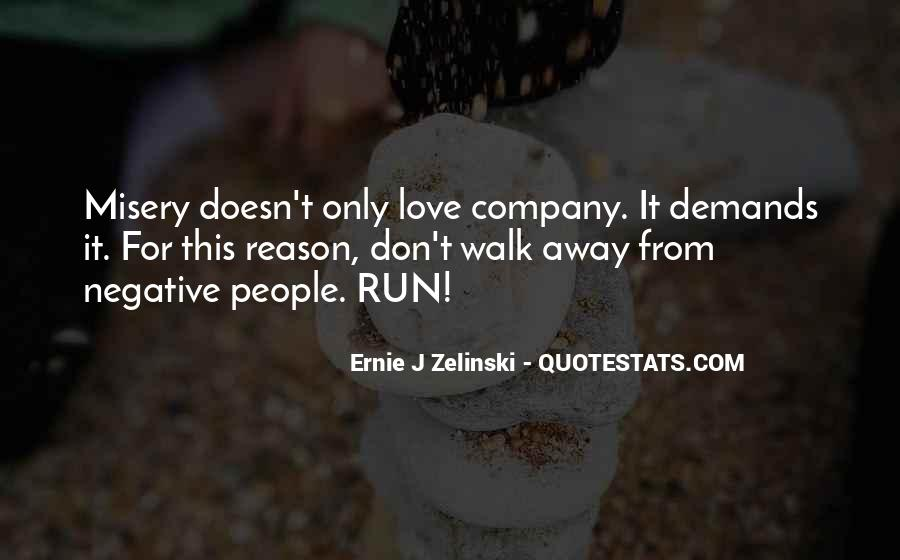 Run Away Love Quotes #169389