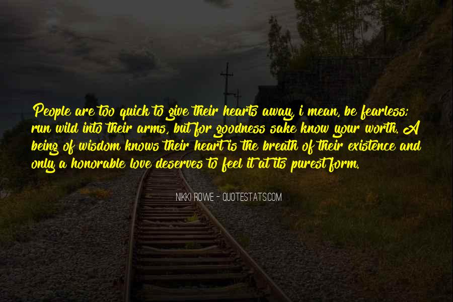 Run Away Love Quotes #1791032