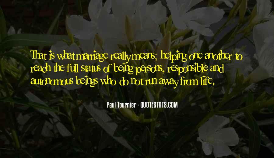 Run Away Love Quotes #1864918