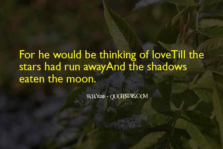 Run Away Love Quotes #211030