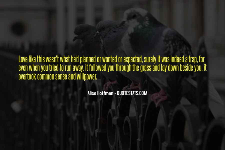 Run Away Love Quotes #290714