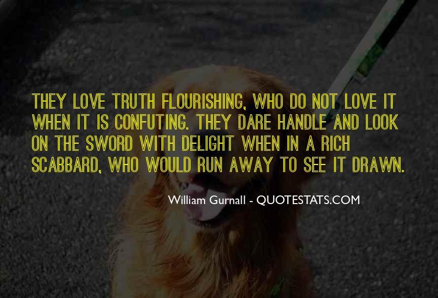 Run Away Love Quotes #339932