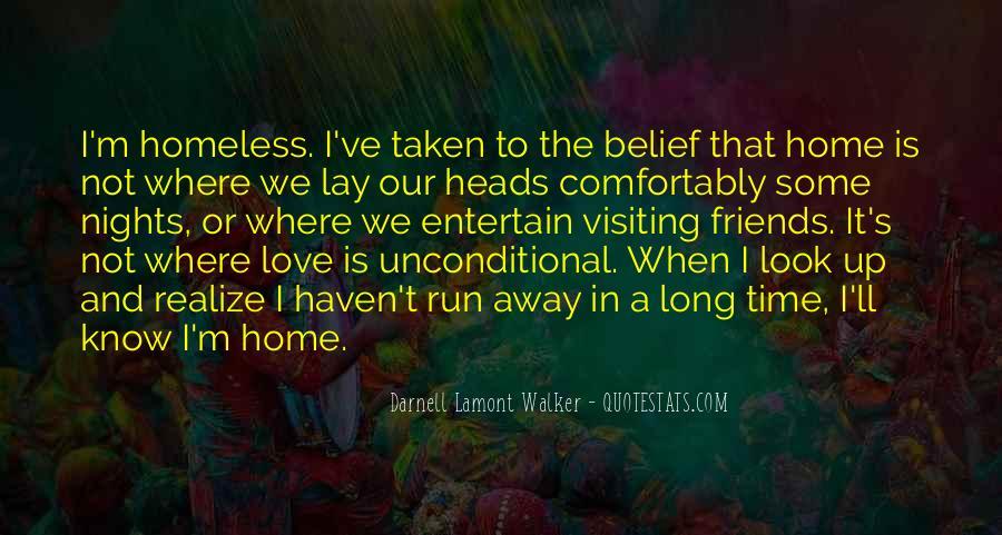 Run Away Love Quotes #479388