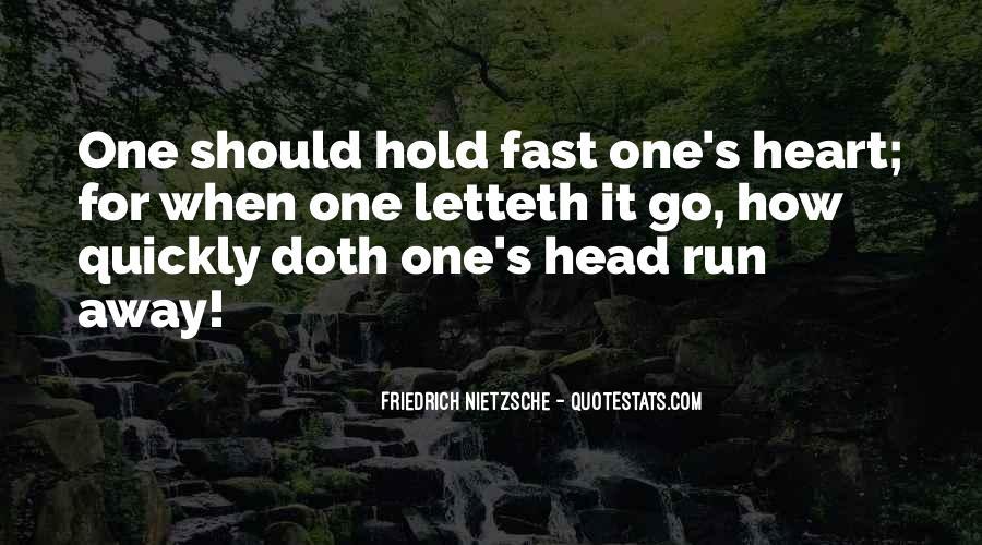 Run Away Love Quotes #482799
